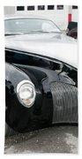 1939 Lincoln Zephyr  7680 Beach Towel