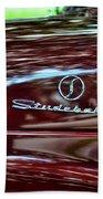 1947 Studebaker Name Plate Beach Towel