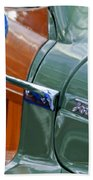 1948 Chrysler Town And Country Convertible Coupe Beach Towel