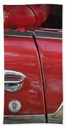 1950s Chevrolet Belair Chevy Antique Vintage Car 3 Beach Towel