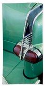 1953 Packard Caribbean Convertible Taillight Beach Towel