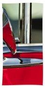 1955 Chevrolet 210 Rear View Mirror Beach Towel