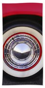 1955 Chevrolet Nomad Wheel Beach Towel