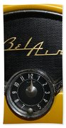 1955 Chevy Belair Clockface Beach Towel