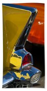 1957 Chevrolet Taillight Beach Towel