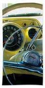 1957 Chevy Bel Air Dash Beach Towel
