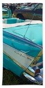1957 Chevy Convertable Beach Towel