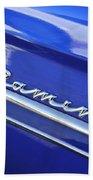 1959 Chevrolet El Camino Emblem Beach Towel