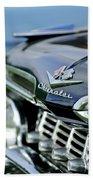 1959 Chevrolet Grille Emblem Beach Towel