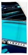 1959 Chevrolet Impala Beach Towel