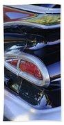 1959 Chevrolet Impala Taillight Beach Towel
