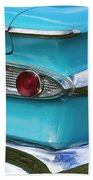 1959 Edsel Corvair Taillights Beach Towel