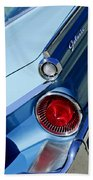 1959 Ford Skyliner Convertible Taillight Beach Towel