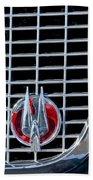 1960 Studebaker Hawk Coupe Emblem Beach Towel