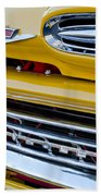 1961 Chevrolet Front End Beach Towel