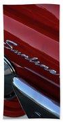 1961 Ford Galaxie Sunliner Convertible Beach Towel