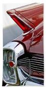 1962 Cadillac Eldorado Taillight Beach Towel