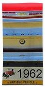 1962 Chevy Impala Ss Beach Towel
