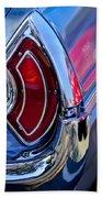 1962 Pontiac Catalina Convertible Taillight Beach Towel