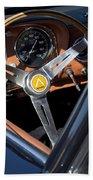 1963 Apollo Steering Wheel     Beach Towel