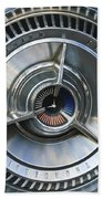 1964 Ford Thunderbird Wheel Rim Beach Towel