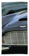 1965 Aston Martin Db6 Short Chassis Volante Beach Towel
