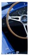 1965 Cobra Sc Steering Wheel 2 Beach Towel