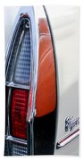 1967 Cadillac Coupe Deville Taillight Beach Towel