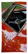 1967 Ferrari 275 Gtb4 Coupe Beach Towel