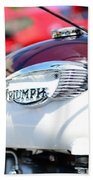1967 Triumph Gas Tank 3 Beach Towel