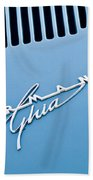 1967 Volkswagen Vw Karmann Ghia Emblem 4 Beach Towel
