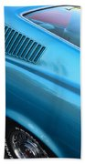 1968 Ford Mustang Fastback  Profile Beach Towel