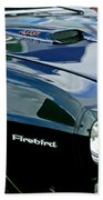 1969 Pontiac Firebird Emblem Beach Towel