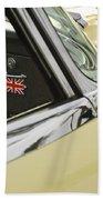 1970 Jaguar Xk Type-e Emblem Beach Towel