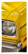 1970 Plymouth Duster 340 Beach Towel