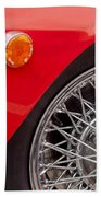 1972 Maserati Ghibli 4.9 Ss Spyder Wheel Beach Towel
