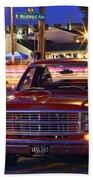 1979 Dodge Li'l Red Express Truck Beach Towel