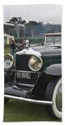 1929 Minerva Type Am Murphy Convertible Sedan Beach Towel