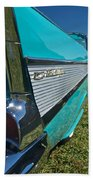 1957 Chevy Convertable Beach Towel