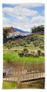 Andalusia Landscape Beach Towel