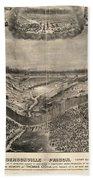 Andersonville Prison, 1864 Beach Towel