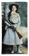 Annie Oakley (1860-1926) Beach Towel