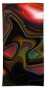 Art Abstract Beach Towel