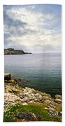 Atlantic Coast In Newfoundland Beach Towel