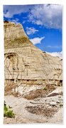 Badlands In Alberta Beach Towel