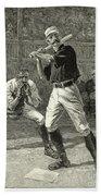 Baseball, 1888 Beach Towel