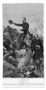Battle Of Spotsylvania Beach Towel