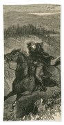 Benedict Arnold, American Traitor Beach Towel by Photo Researchers