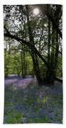 Bluebell Woods  Beach Towel