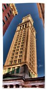 Boston Custom House Beach Towel